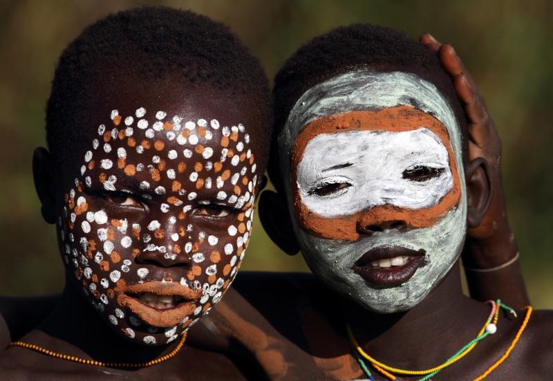 Ethiopian Tribes, Suri boy - Dietmar Temps, photography