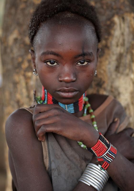 Ethiopian Tribes, Beautiful Hamer Girl - Dietmar Temps -1305