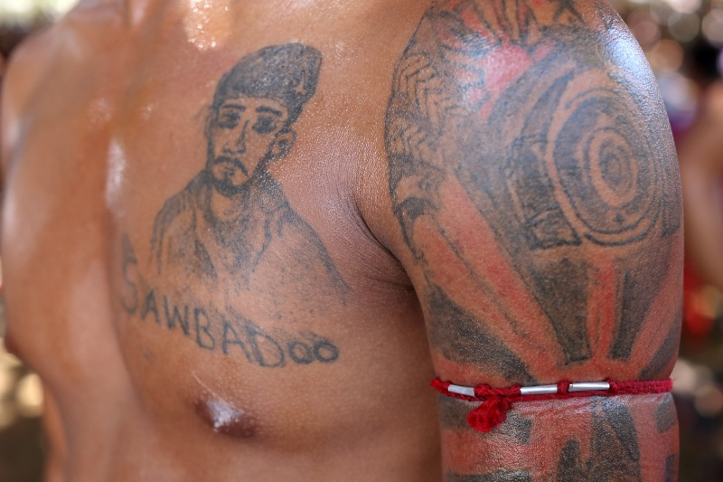 Tattoo Of Lethwei Boxer Hpa An Myanmar Burma Dietmar