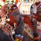 Kenya, Samburu wedding