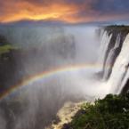 Victoria Falls, Livingstone, Z...
