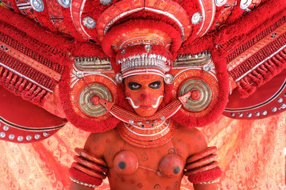 Theyyam dancer, India