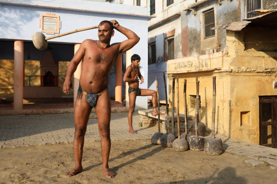 Kushti in India
